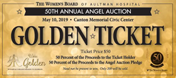 Angel Auction Golden Ticket Raffle